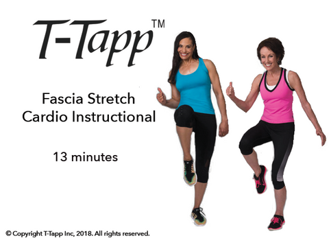 Fascia Stretch Cardio Instructional Only with Teresa and Emily (13 min) - Download