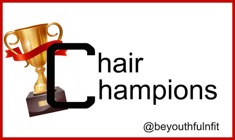 Chair Champions SHORT Seated Classes with Trainer Trisch--  Tappiversary Special!