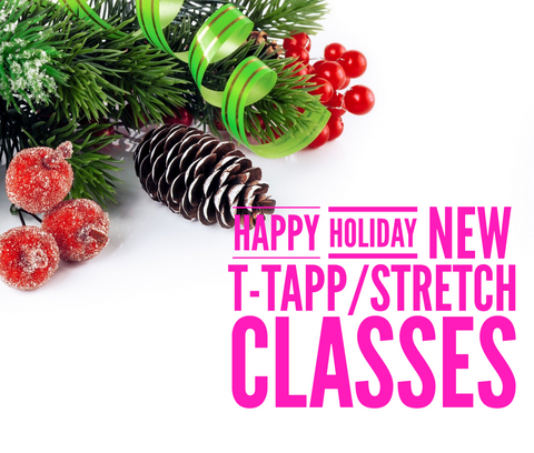 Happy Holidays! NEW T-Tapp Sculpt and Stretch Class Package!