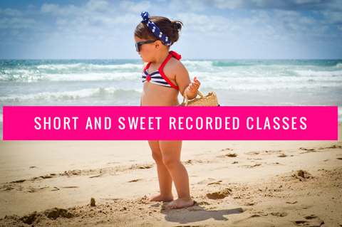 "40 ""Short and Sweet"" Recorded Class Package - Renee McLaughlin"