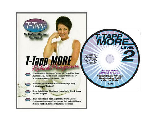 T-Tapp MORE Level 1 & 2 Set   Free Shipping