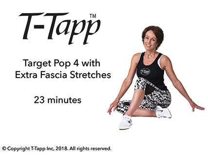 Target Pop 4 with Extra Fascia Stretches (23 min) - Download