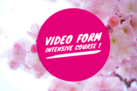 Video Form Intensive 6 week Course 1 - Renee McLaughlin