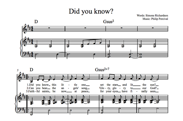 Did You Know? (Sheet Music)
