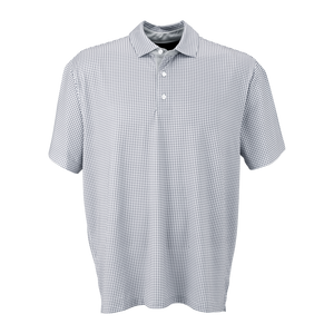 C1962 Mens Mini Gingham Polo