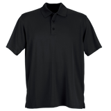 C1820M Mens Omega Solid Mesh Tech Polo