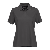 C1820W Ladies Omega Solid Mesh Tech Polo