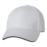 C1206 USA-Made Structured Cap with Sandwich Visor