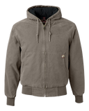 C1770M Mens Cheyenne Hooded Boulder Cloth Lined Jacket