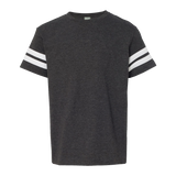 CY1813K Youth Football Fine Jersey Tee