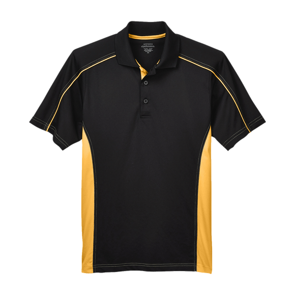 C1418M Mens Eperfomance Fuse Colorblock Polo