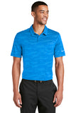 NKAA1852 Mens Waves Jacquard Polo*