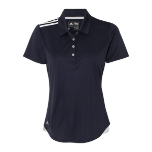 C1782W Ladies Climacool 3 Stripe Shoulder Polo