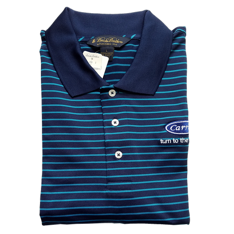C1630 Mens Fine Stripe Jersey Polo*