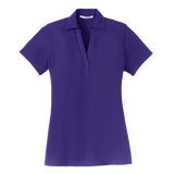 C1668 Ladies Silk Touch Y-Neck Polo
