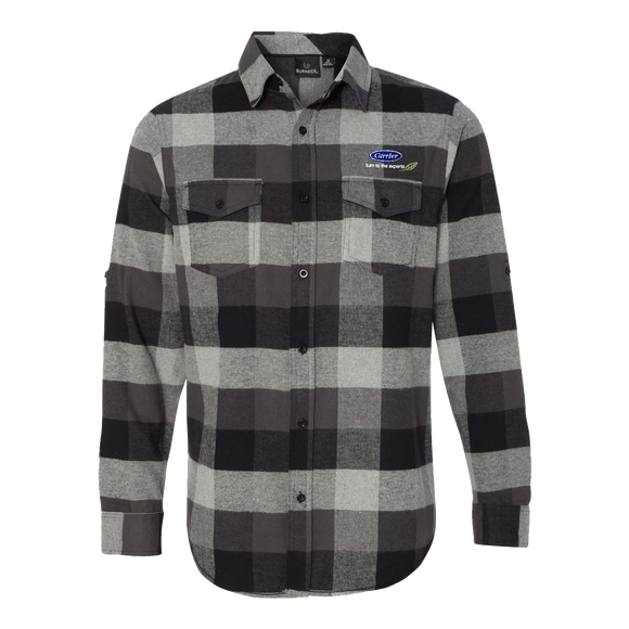 C1714M Mens Yarn-Dyed Flannel Shirt