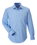 C1698M Mens Crown Collection Glen Plaid Shirt