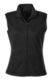 C1788W Ladies Newbury Melange Fleece Vest