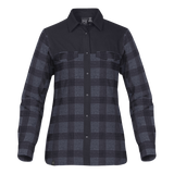 C1864W Womens Thermal Long Sleeve Flannel Shirt