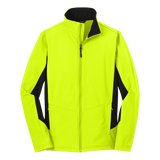 CC1701M Mens Core Colorblock Soft Shell Jacket