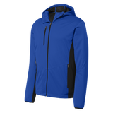 C1730M Mens Active Hooded Soft Shell Jacket