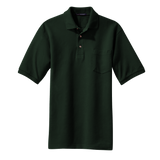 C1309MP Mens Pique Knit Pocket Polo