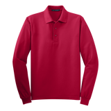 C1308MLS Mens Silk Touch Long Sleeve Polo