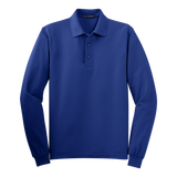 C1308MTLS Mens Tall Silk Touch Long Sleeve Polo