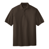 C1308M Mens Silk Touch Short Sleeve Polo