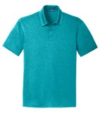 C1716M Mens Trace Heather Polo