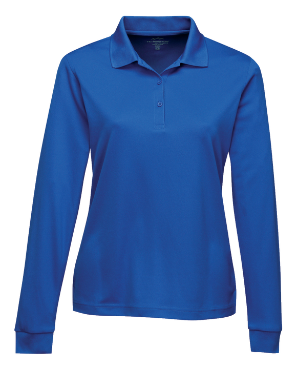 C1676W Ladies Long Sleeve Vital Polo