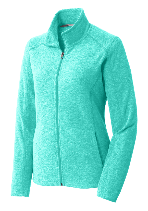C1731W Ladies Heather Microfleece Jacket