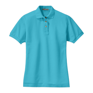 C1309W Ladies Pique Knit Polo