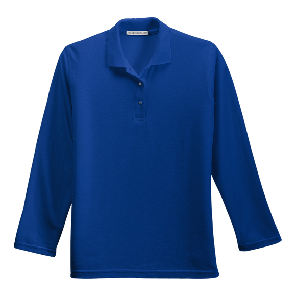 C1308WLS Ladies Silk Touch Long Sleeve Polo