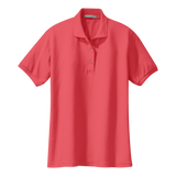 C1308W Ladies Silk Touch Polo