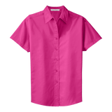 C1301WSS Ladies Easy Care Short Sleeve Shirt