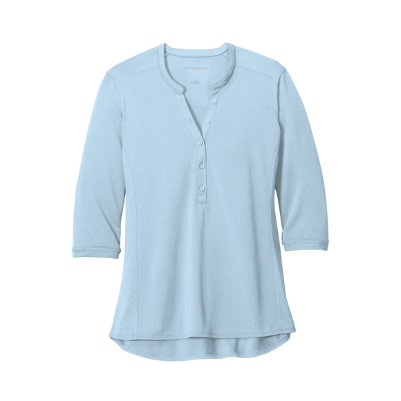 C2057W Ladies UV Choice Pique Henley