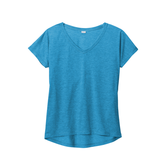 C2072 Ladies Tri-Blend Wicking Dolman Tee
