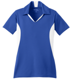 C1765W Ladies Side Blocked Micropique Polo