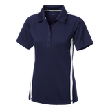 C1764W Ladies Micro-Mesh Colorblock Polo