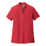 C1908W Ladies Dri-Fit Hex Textured V-Neck Top