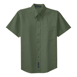 C1301MSS Mens Easy Care Short Sleeve Shirt
