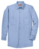 C1744M Mens Long Sleeve Industrial Work Shirt