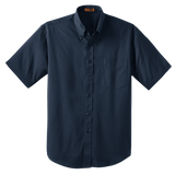 C1320MSS Mens Short Sleeve SuperPro Twill Shirt