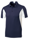 C1765MT Mens Tall Side Blocked Micropique Polo