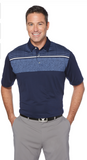 CGM620 Mens Chest Print Polo*