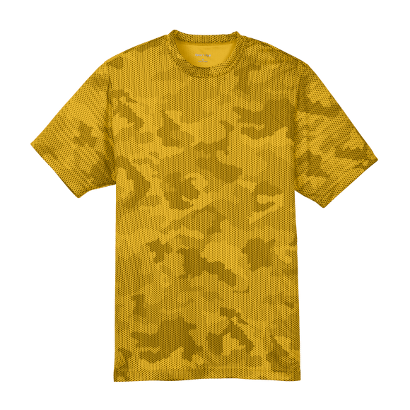 CY1804  Youth CamoHex Tee
