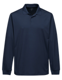 C1676M Mens Long Sleeve Vital Polo