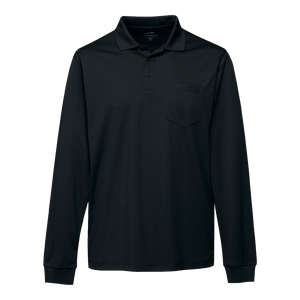 C1210 Mens Vital Long Sleeve Pocket Polo