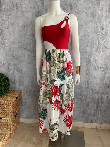 Flower dress / skirt cover up